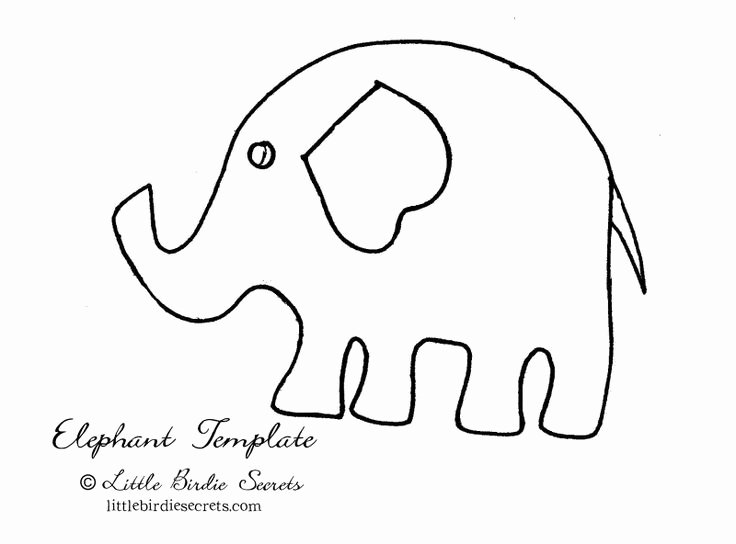 Baby Elephant Cut Out Template Awesome 1000 Images About Shower Diy Onesies On Pinterest