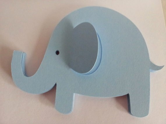 Baby Elephant Cut Outs Awesome 10 Large Elephants Cardstock Cut Outs Great for Party