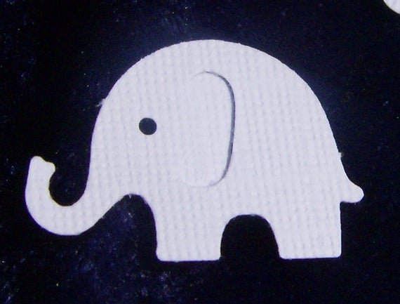 Baby Elephant Cut Outs Fresh Items Similar to Elly the White Elephant Cut Outs 50 On Etsy