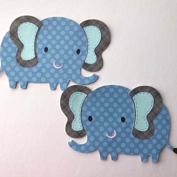 Baby Elephant Cut Outs Unique Elephant Cut Out Elephant Baby Shower Decor Elephant Cake