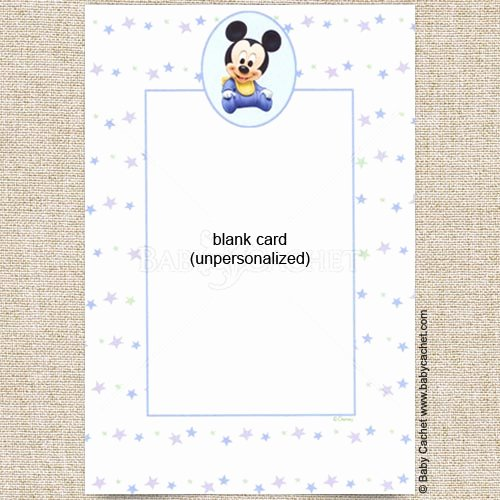 Baby Mickey Birthday Invitations Elegant Disney Baby Mickey Birthday Invitations