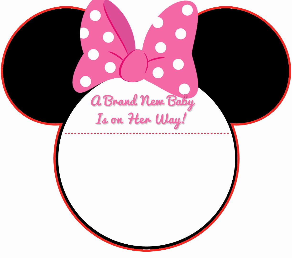 Baby Minnie Mouse Invitation Lovely New Free Printable Mickey Mouse Baby Shower Invitation
