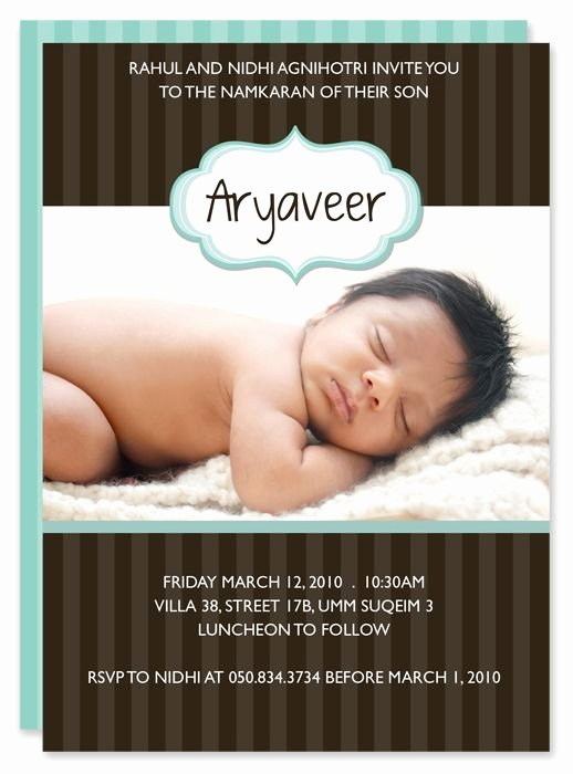 Baby Naming Ceremony Invitation Lovely Hindu Naming Ceremony Invitation Name