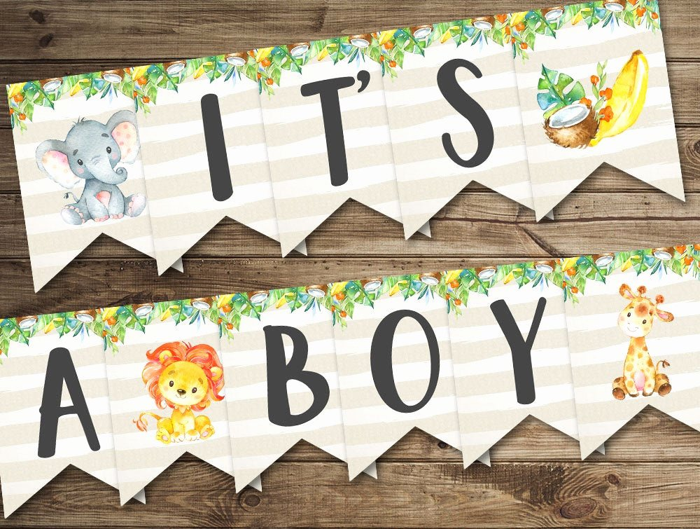 Baby Shower Banner Printable Best Of Banner It S A Boy Baby Shower Banner Printable Baby
