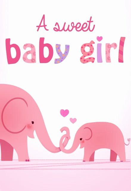 Baby Shower Card to Print Elegant Baby Shower & New Baby Cards Free
