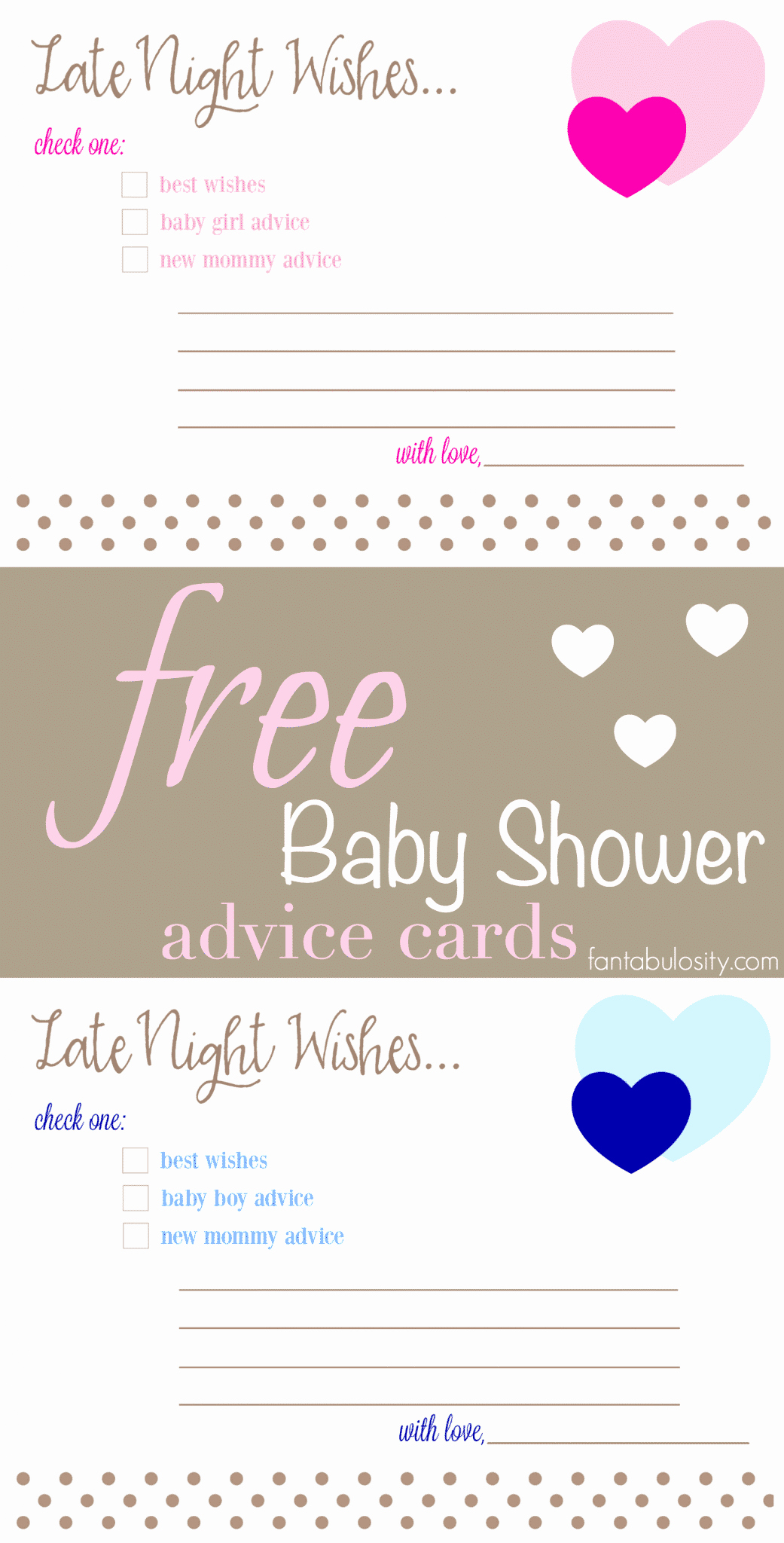 Baby Shower Card to Print Inspirational Free Printable Baby Shower Advice & Best Wishes Cards