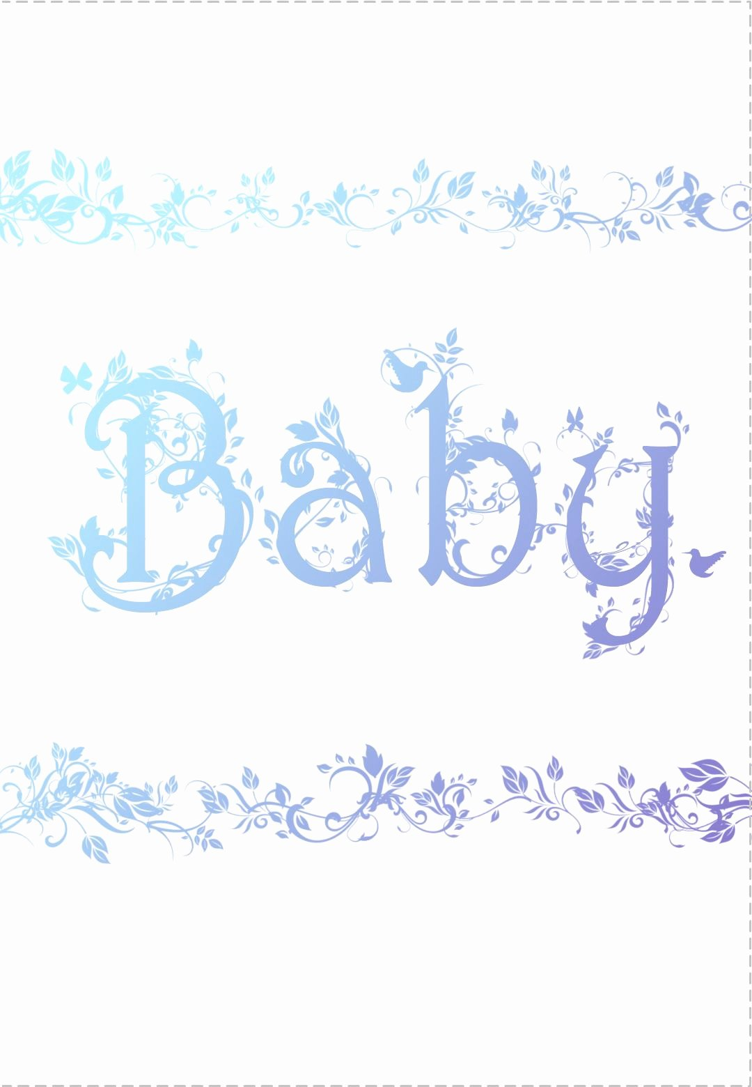 Baby Shower Card to Print Luxury Free Printable Decorated Baby Card Greeting Card
