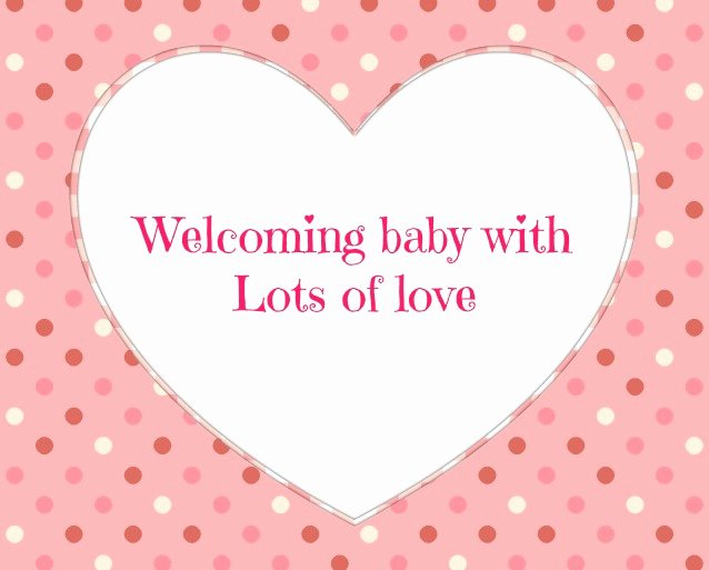 Baby Shower Card to Print New Baby Shower Messages My Practical Baby Shower Guide