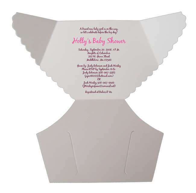 Baby Shower Diaper Template Best Of Free Baby Diaper Invitation Template