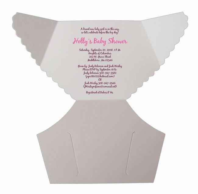 Baby Shower Diaper Template Luxury Best 25 Diaper Invitation Template Ideas On Pinterest