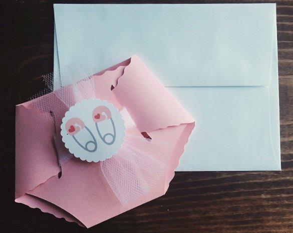 Baby Shower Diaper Template Unique 35 Diaper Invitation Templates – Psd Vector Eps Ai