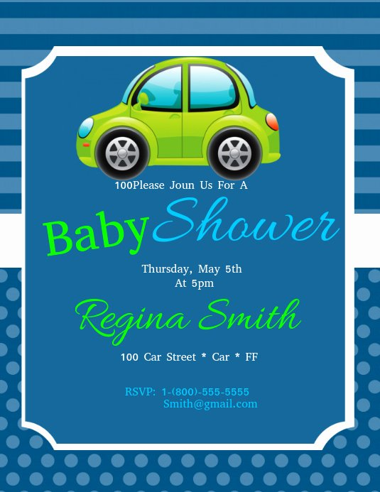 Baby Shower Flyer Ideas Awesome Baby Shower Template