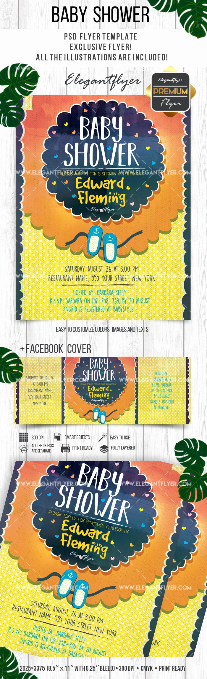 Baby Shower Flyer Ideas Best Of Flyer Baby Shower for Second Child – by Elegantflyer