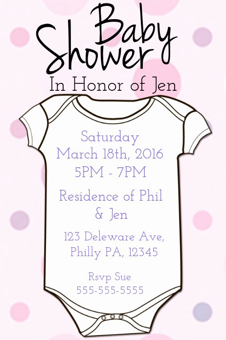 Baby Shower Flyer Ideas Fresh Baby Shower Template