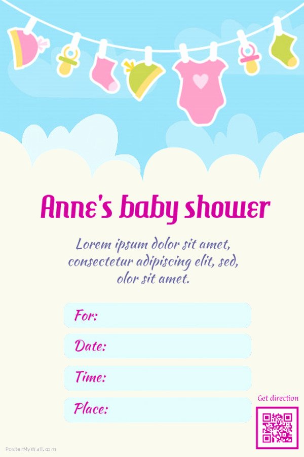 Baby Shower Flyer Ideas Inspirational 21 Baby Shower Flyer Templates Psd Ai Illustrator Download
