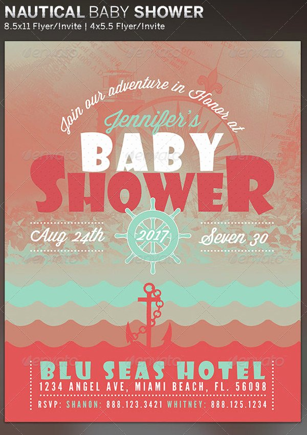 Baby Shower Flyer Ideas Lovely 21 Baby Shower Flyer Templates Psd Ai Illustrator Download