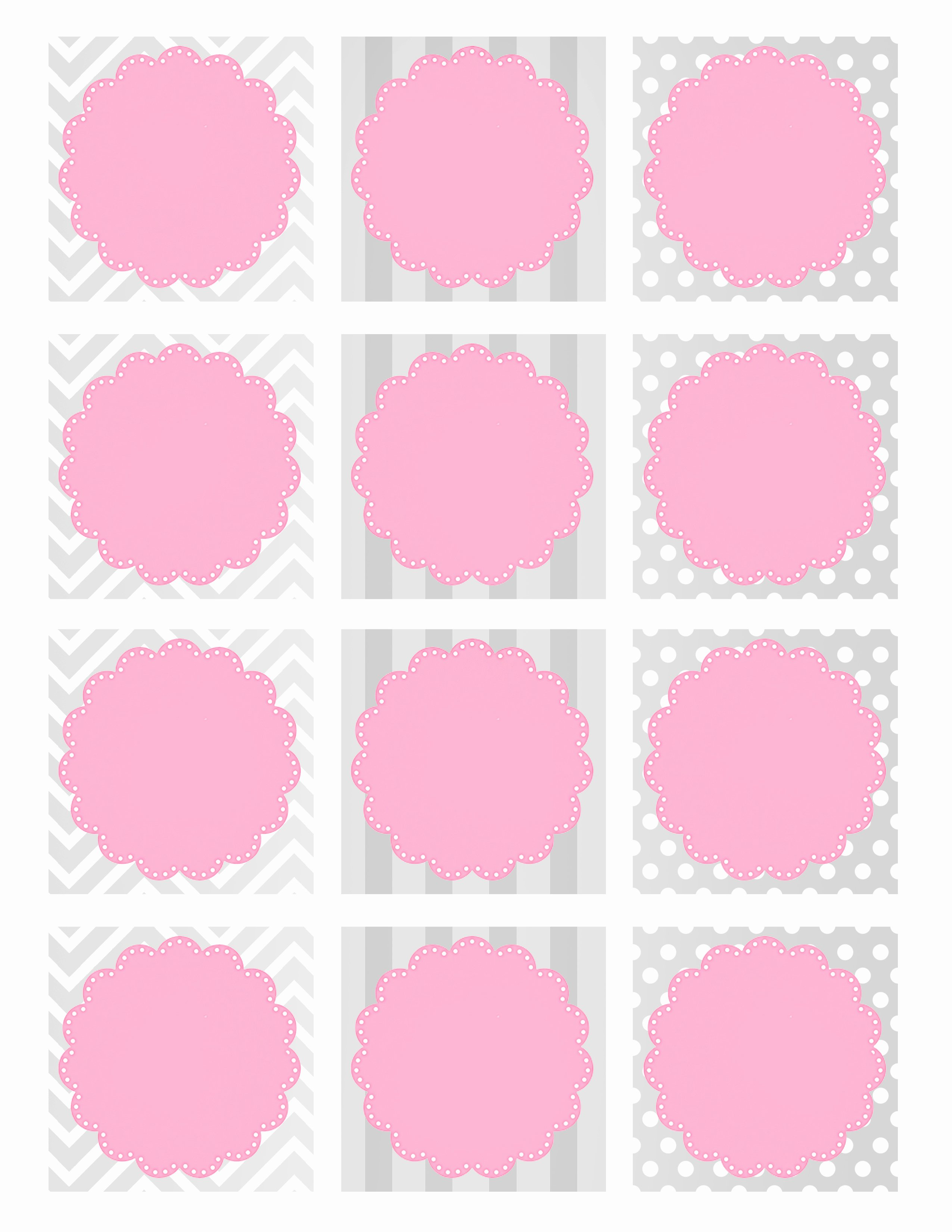 Baby Shower Gift Tag Template Luxury Baby Girl Shower Free Printables How to Nest for Less™