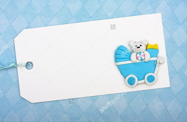 Baby Shower Gift Tag Template New 9 Baby Shower Gift Tags Psd Vector Eps