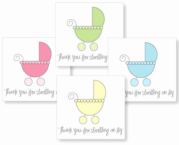 baby carriage shower theme