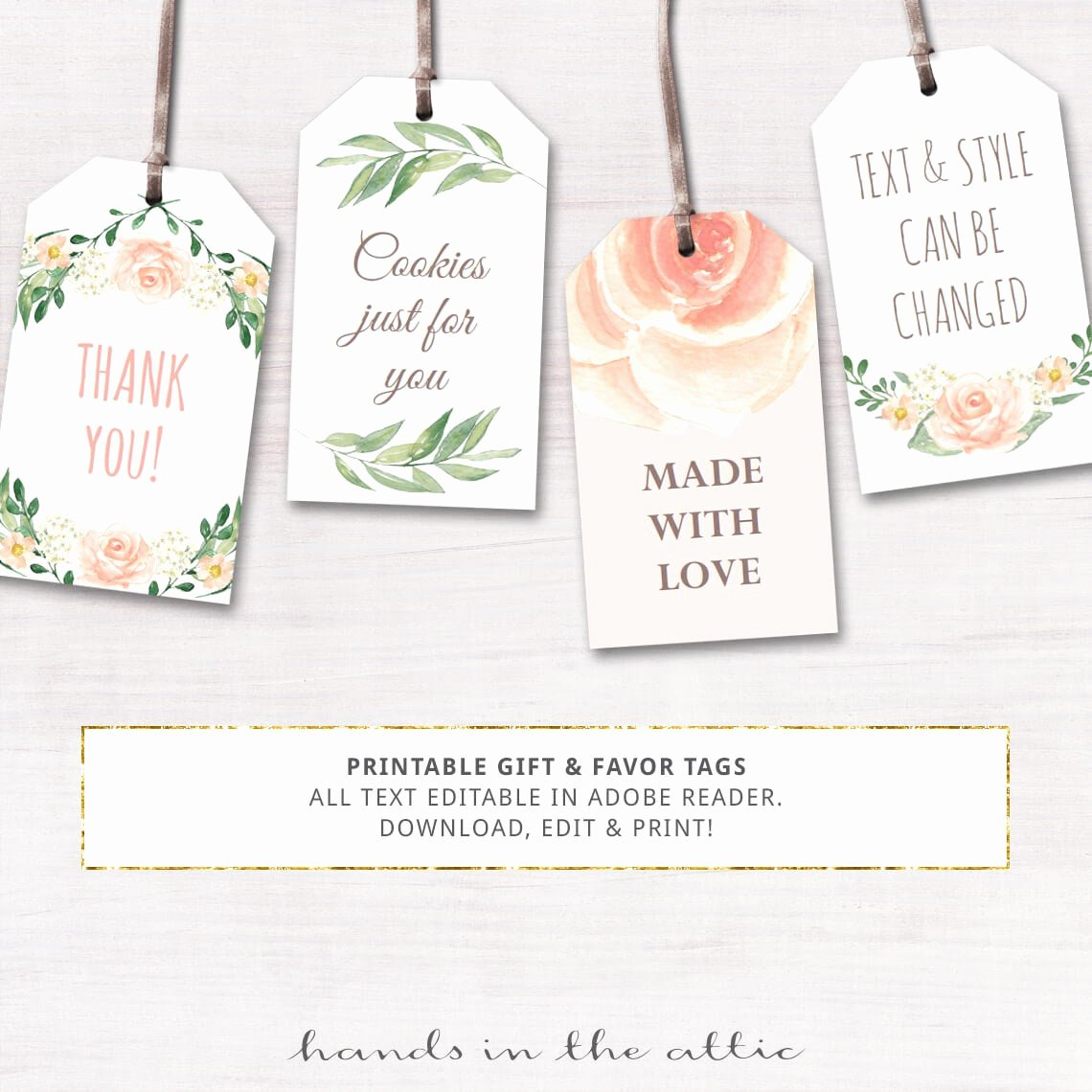 Baby Shower Gift Tags Printable Lovely Printable Baby Shower Labels Editable T Tags by