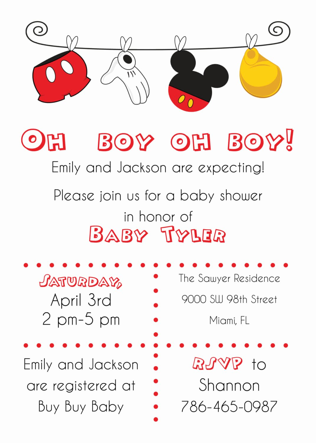 Baby Shower Mickey Mouse Invitations Luxury Disney Baby Shower Ideas Baby Ideas