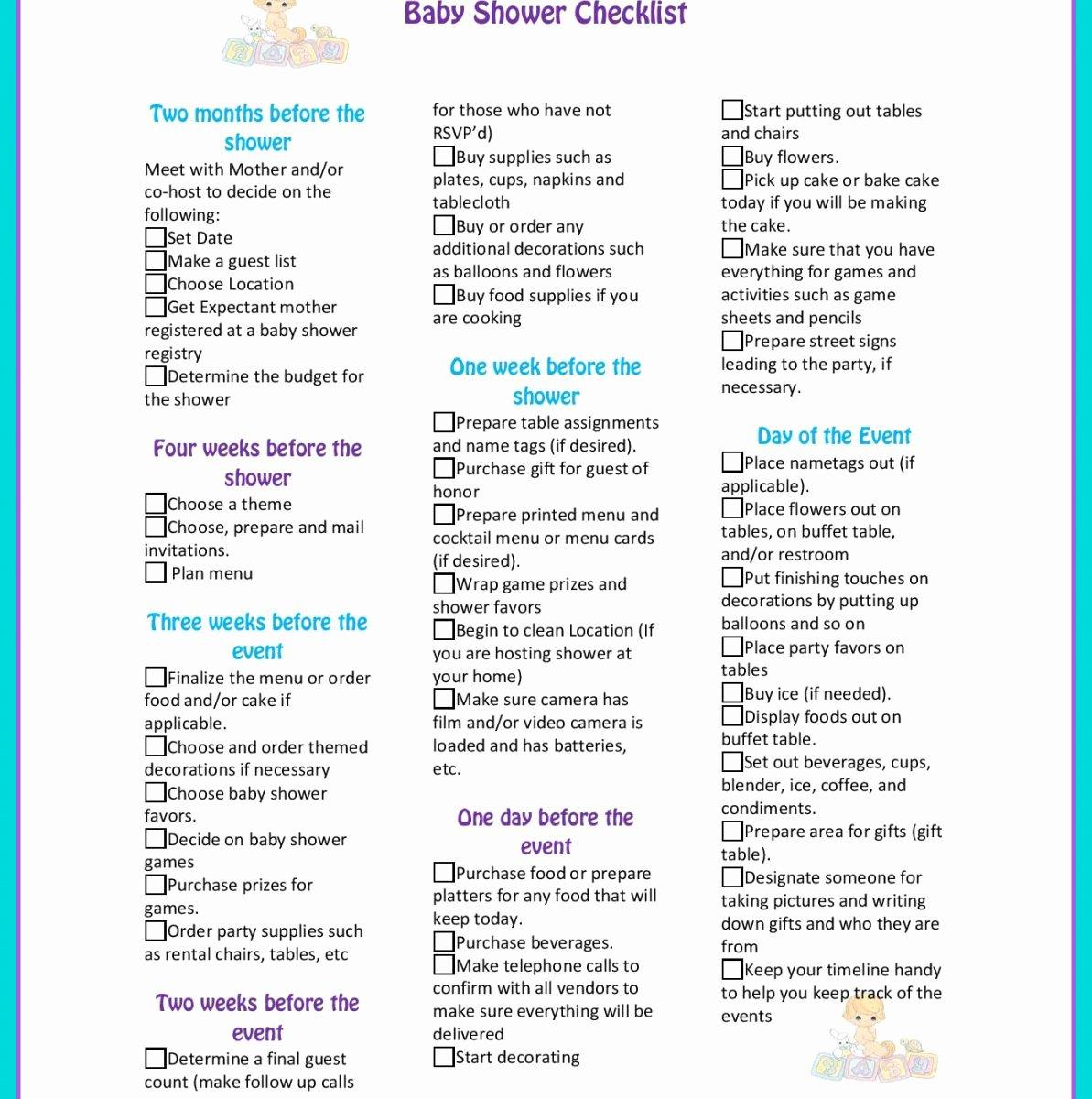 Baby Shower Program Sample Inspirational Baby Shower Program Sample Red 8 5x11 Agenda Example