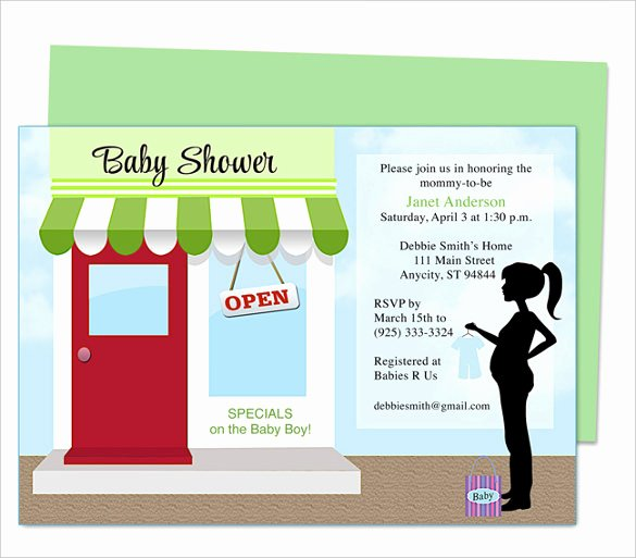 Baby Shower Program Sample New 50 Microsoft Invitation Templates Free Samples