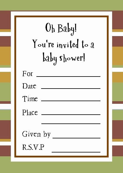 Baby Shower Program Sample Unique Cute Sample Baby Shower Invitations
