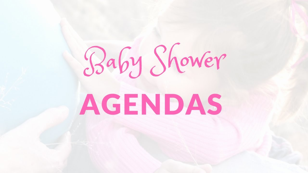 Baby Shower Program Template Elegant Baby Shower Agendas Do I Need A Baby Shower Agenda