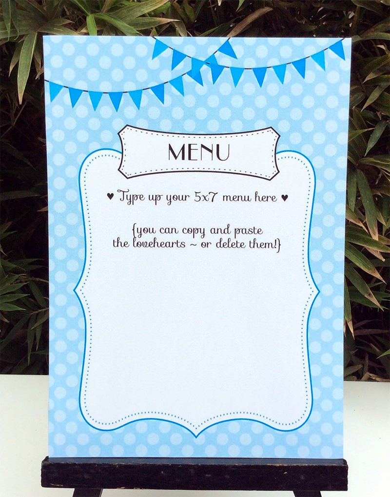 Baby Shower Program Template Elegant Paris Baby Shower theme Printables