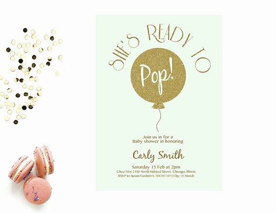 Baby Shower Programs Template Fresh Word Template Baby Shower Invitation Editable Word by
