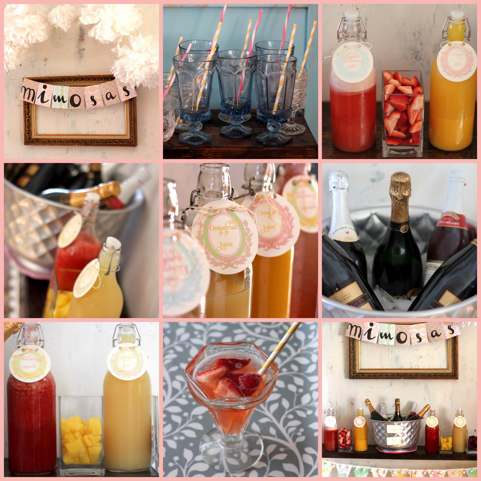 Baby Shower Shopping List Elegant Mimosa Bar How to and Shopping List