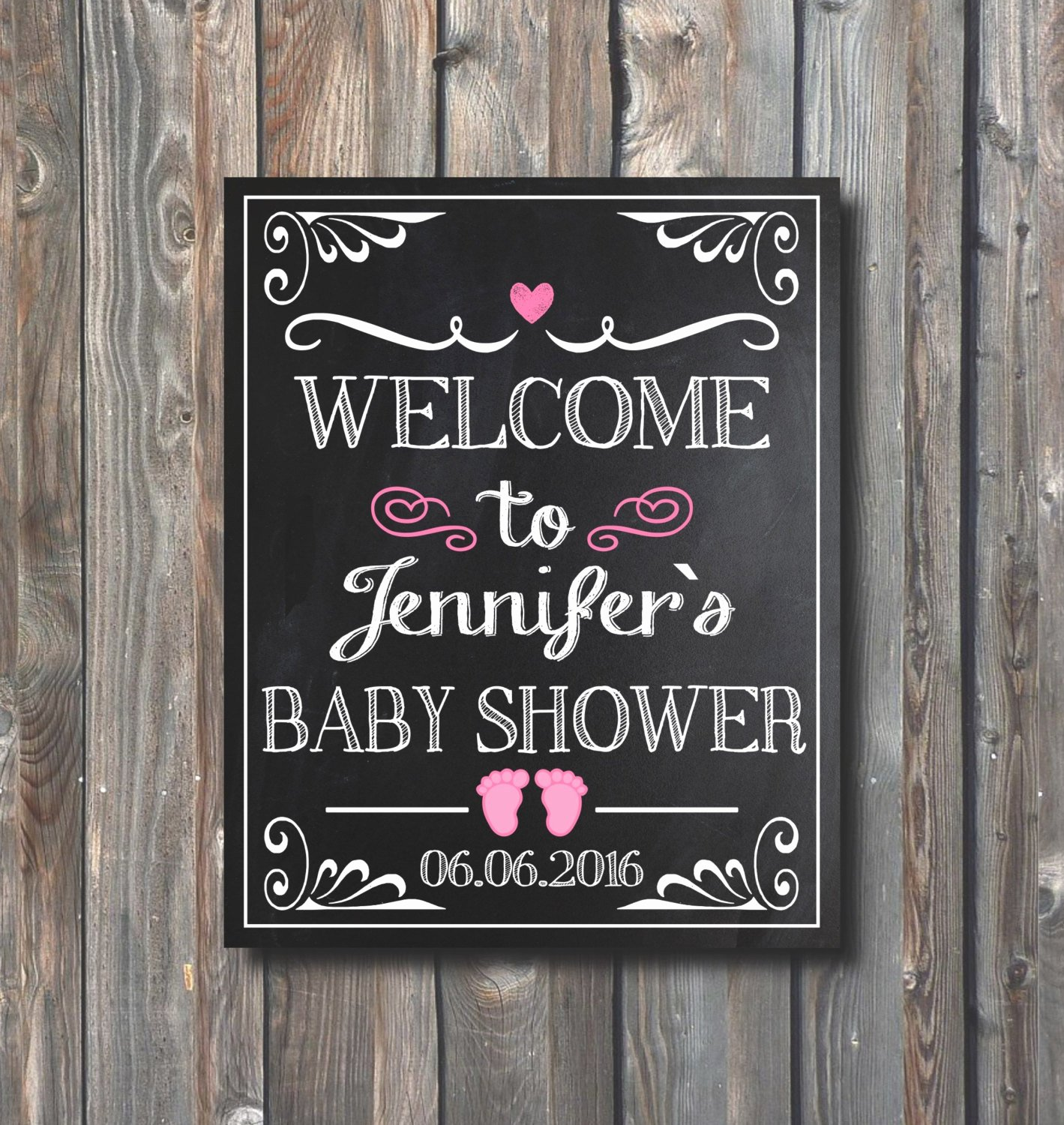 Baby Shower Signs Printable Fresh Printable Baby Shower Wel E by Happyfiestadesign On Etsy