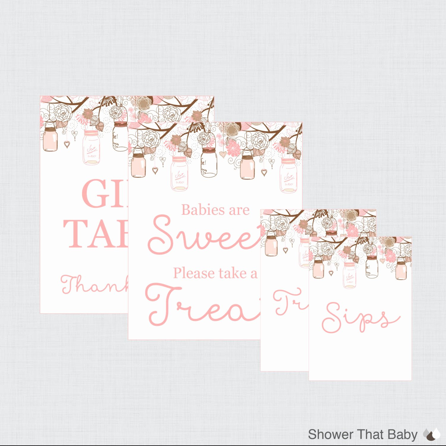 Baby Shower Signs Printable Lovely Printable Baby Shower Table Signs Favors Sign Babies are