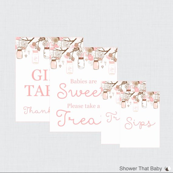 Baby Shower Signs Printable Luxury Printable Baby Shower Table Signs Favors Sign Babies are