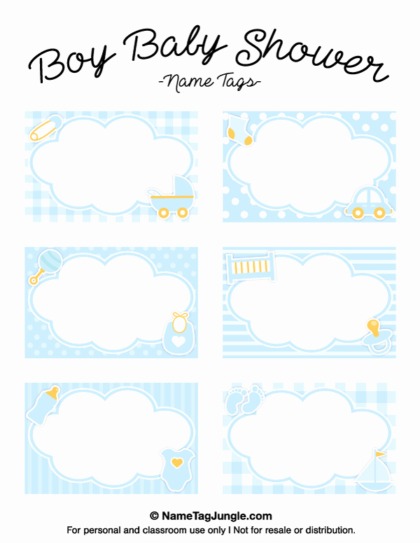 Baby Shower Tags Printable Best Of Pin by Muse Printables On Name Tags at Nametagjungle