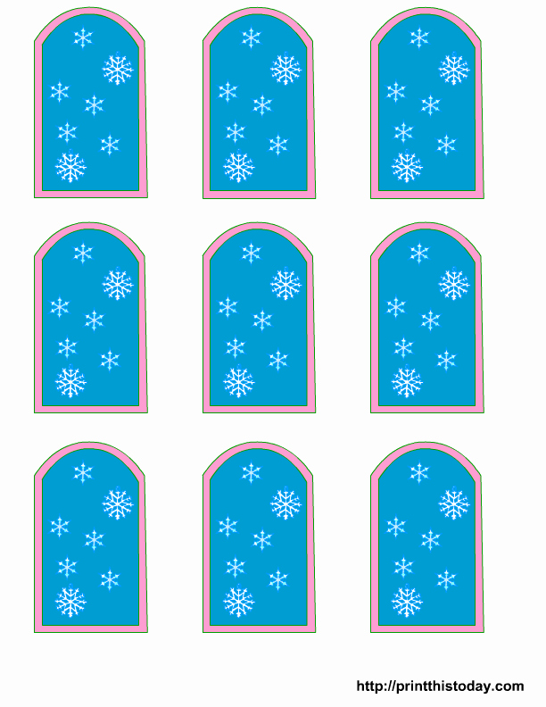 Baby Shower Tags Printable Elegant Free Winter Baby Shower Favor Tags Templates