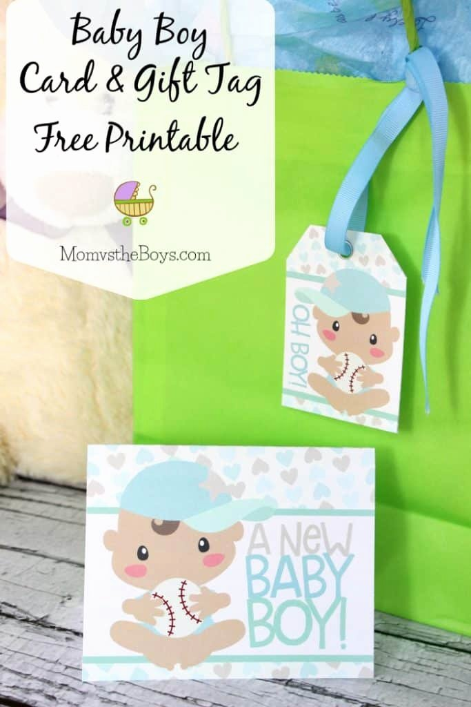 Baby Shower Tags Printable Lovely Baby Shower Gift Tags and Card Free Printable Mom Vs