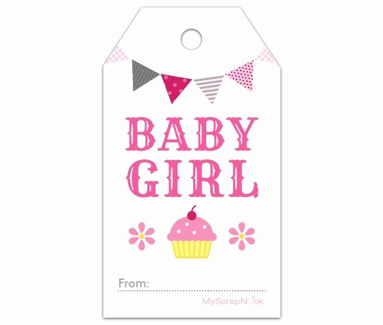 Baby Shower Tags Template Beautiful Pin On Baby Shower Cards & Ideas