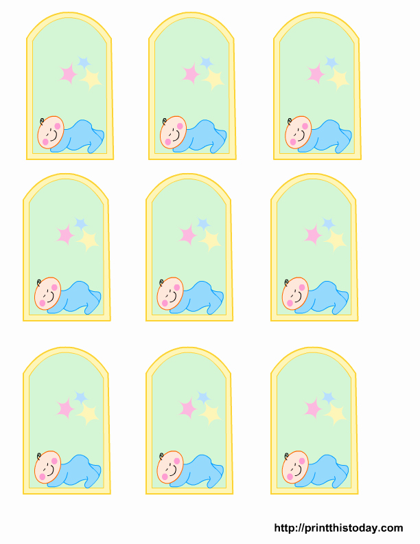 Baby Shower Tags Template Best Of Free Owl Baby Shower Favor Tags Templates