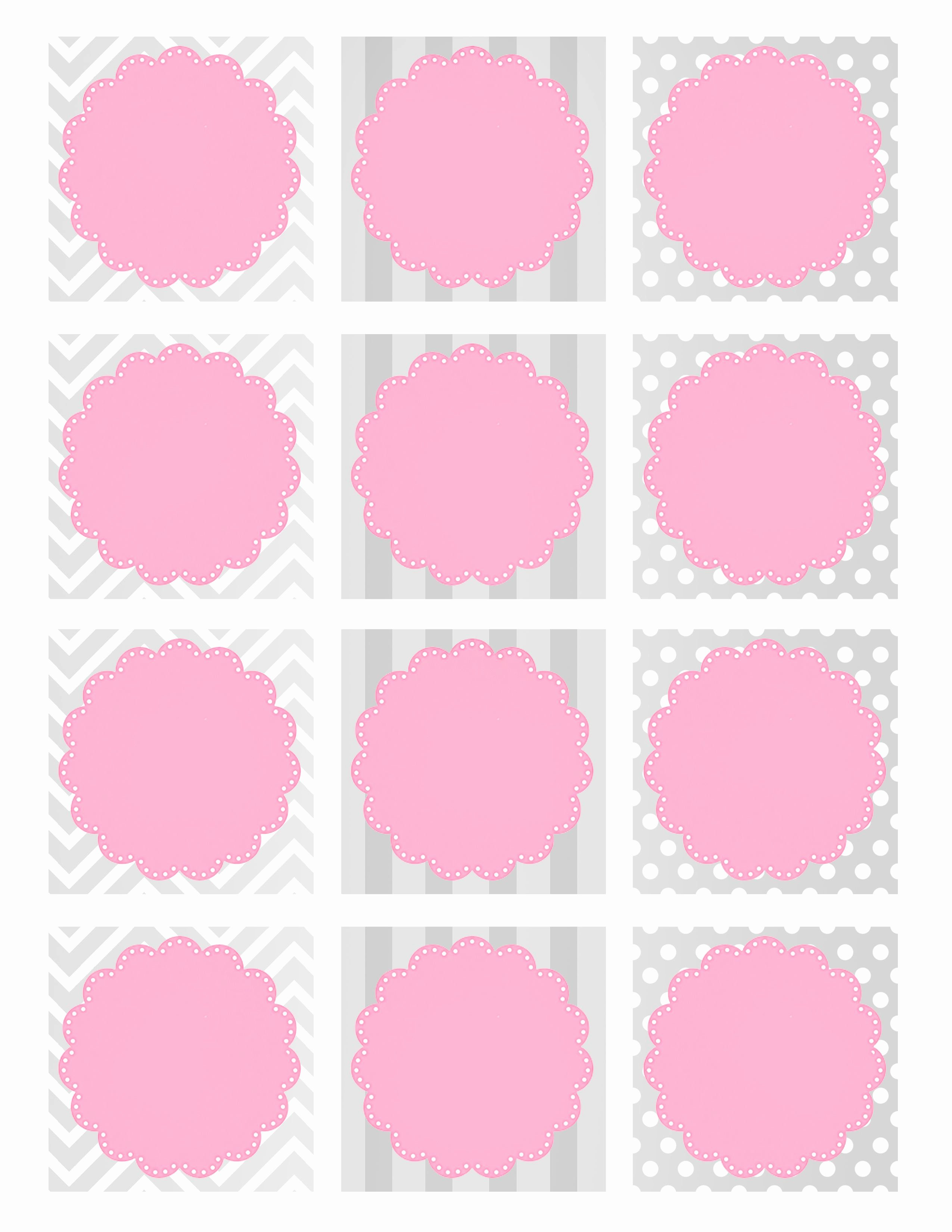 Baby Shower Tags Template Luxury Baby Girl Shower Free Printables Printable Pages