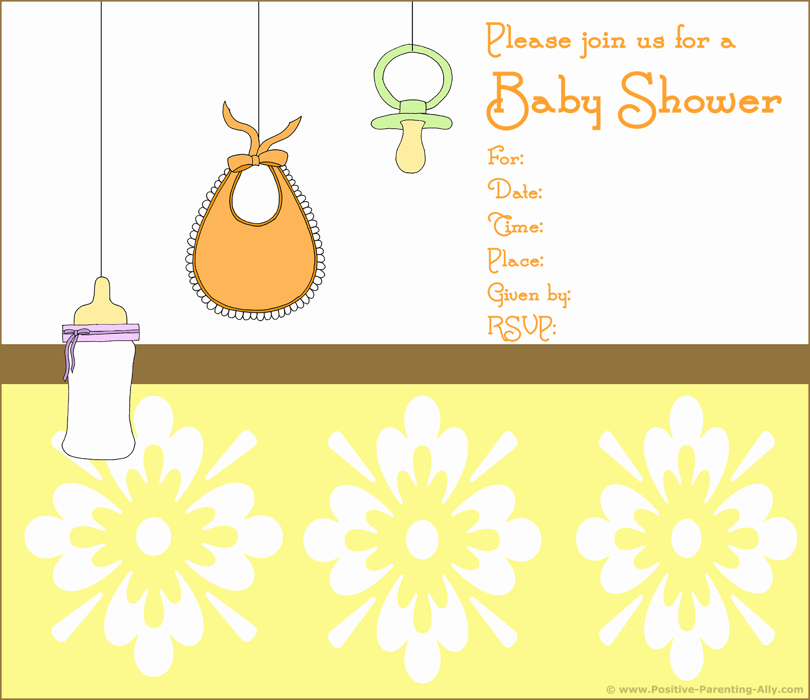 Baby Shower Template Free Lovely Free Printable Baby Shower Invitations In High Quality