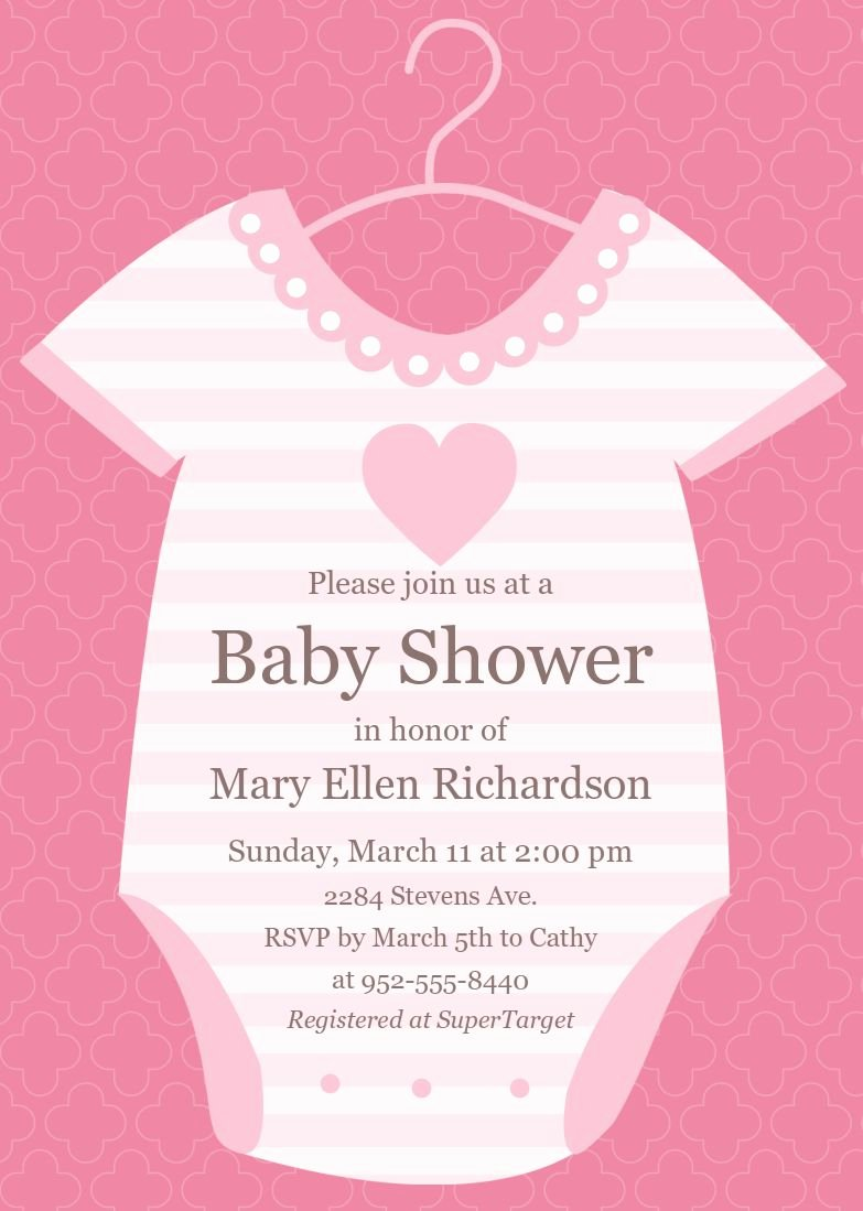 baby shower invitations cards designs