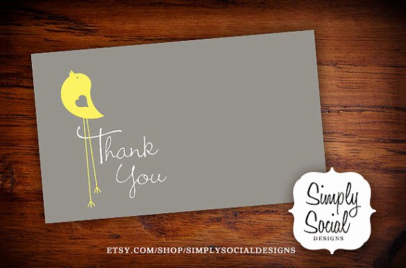 Baby Shower Thank You Template Fresh 20 Baby Shower Thank You Cards Printable Psd Ai Word