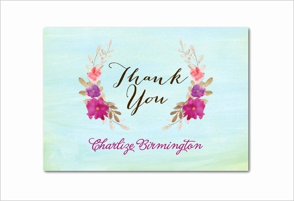 Baby Shower Thank You Template Luxury 20 Baby Shower Thank You Cards Printable Psd Ai Word