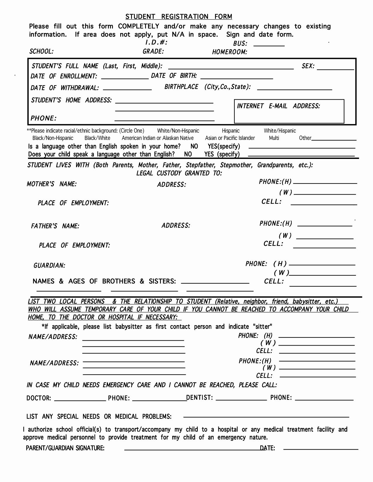 Babysitter Information Sheet Template Unique Babysitters Job Information Sheet Driverlayer Search Engine