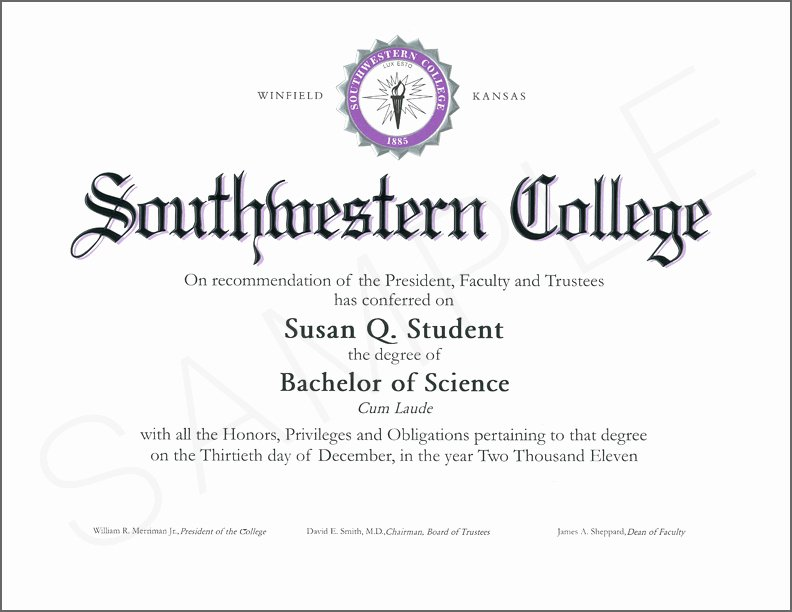 university degree templates