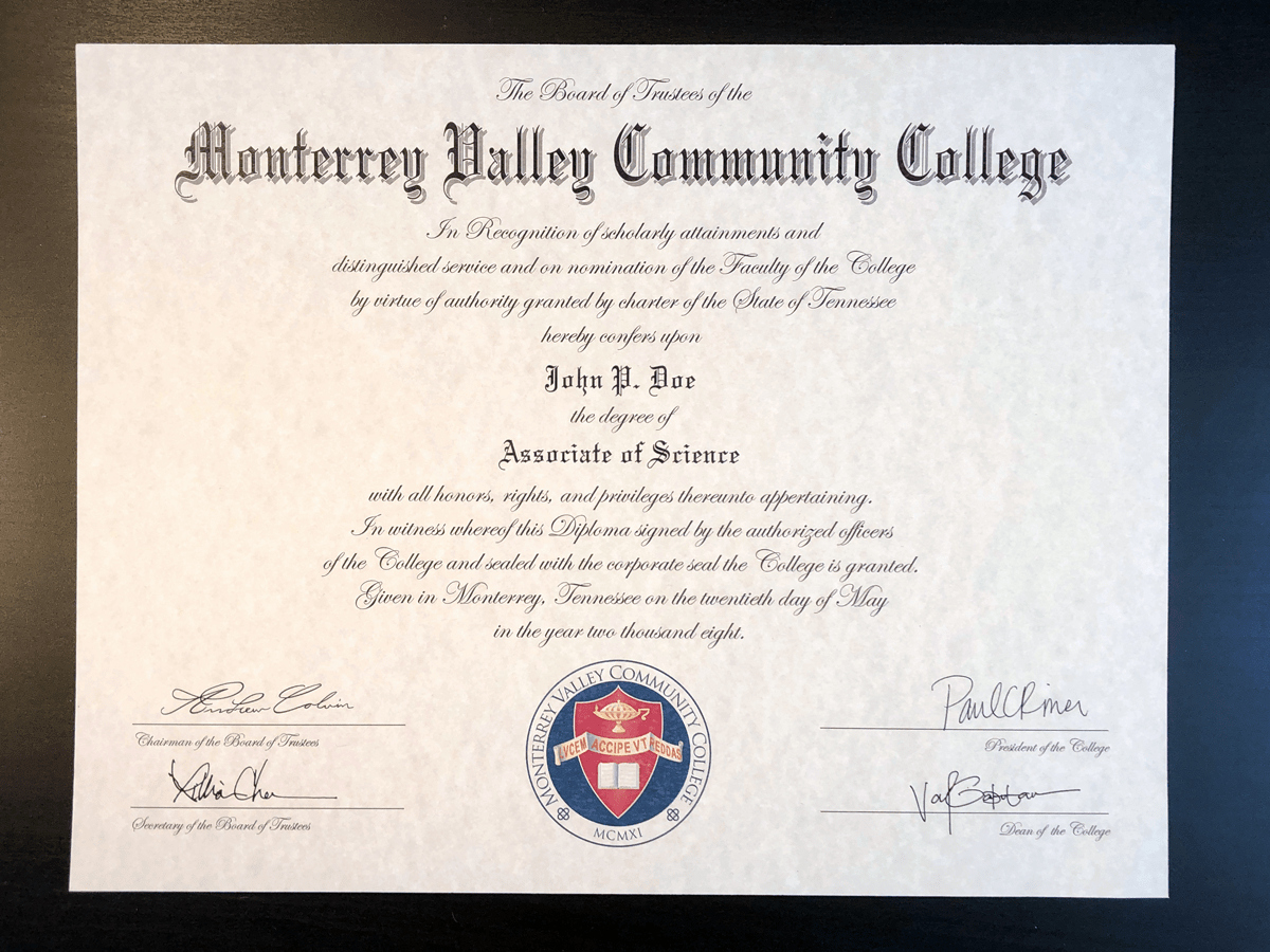 Bachelor Degree Certificate Template Luxury Fake College Diplomas & Certificates