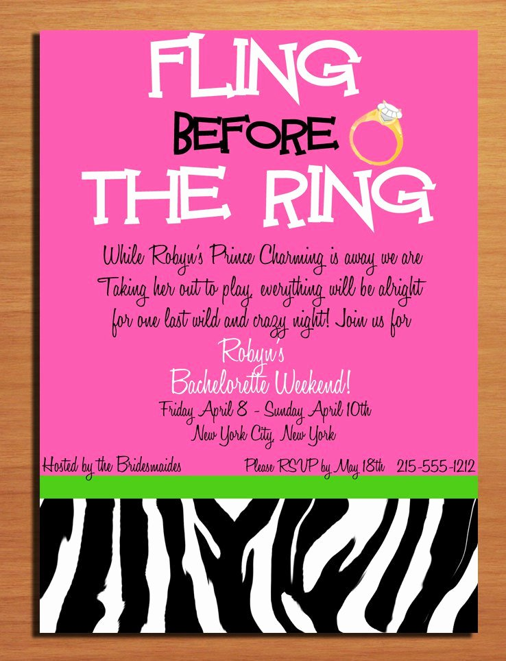 Bachelorette Party Invites Templates Beautiful Bachelorette Party Printable Templates Free