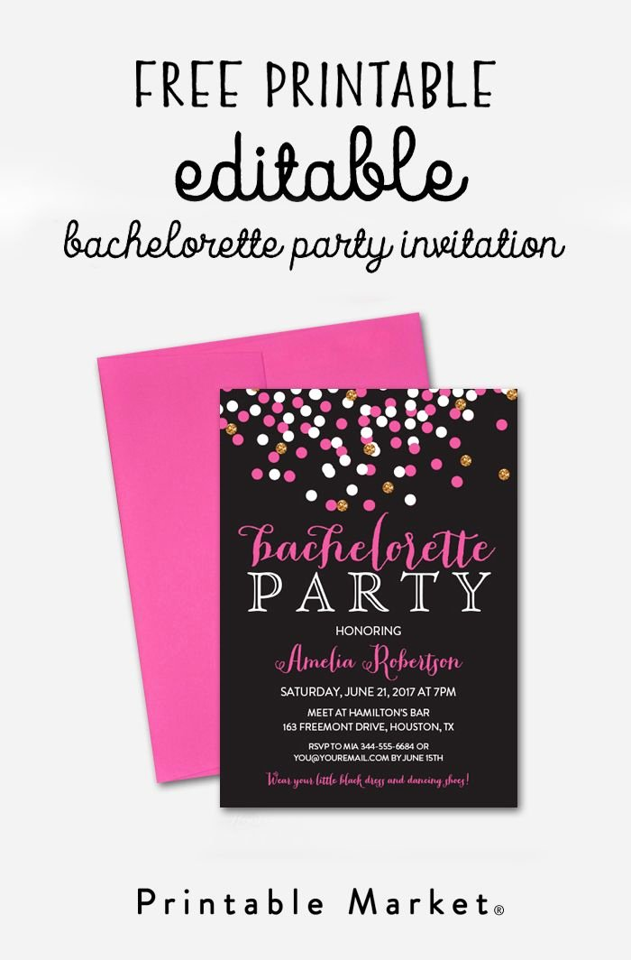 Bachelorette Party Invites Templates Best Of 46 Best Bachelorette Party Ideas Images On Pinterest